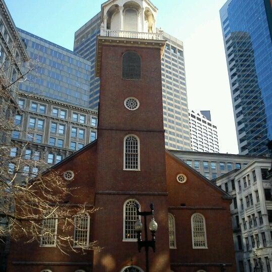 11/12/2012にCaio Robledo Q.がOld South Meeting Houseで撮った写真