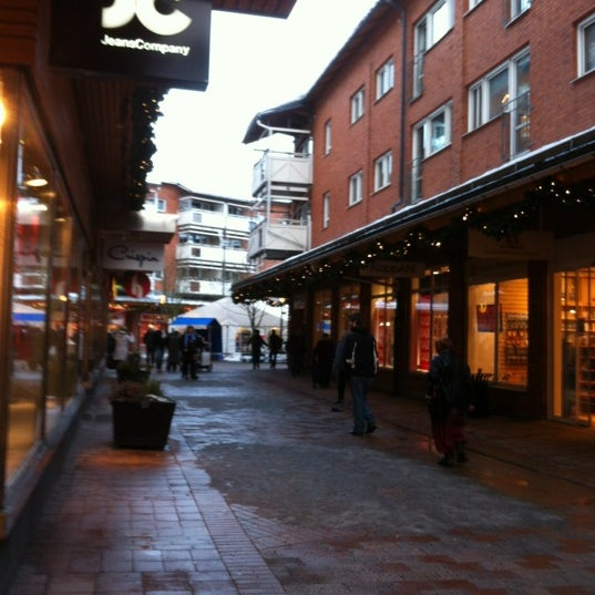 Photo taken at Huddinge Centrum by Peter A. on 12 27 2012 3aba70a7b85a4