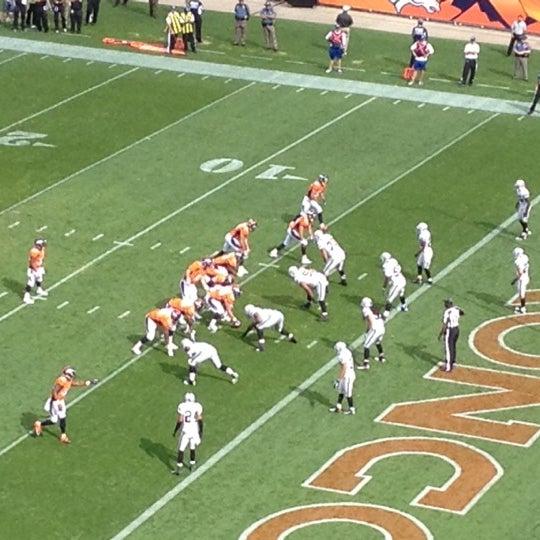 Foto diambil di Broncos Stadium at Mile High oleh Adam M. pada 9/30/2012