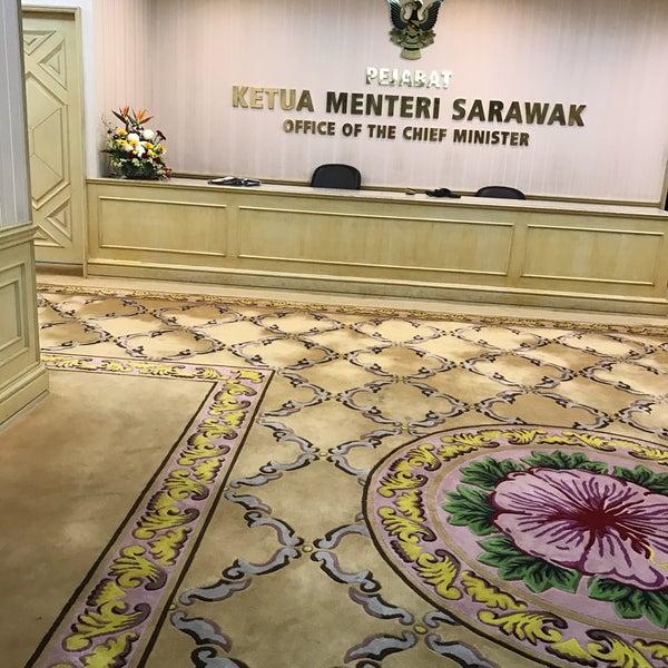 Sarawak Chief Minister S Office Pejabat Ketua Menteri Sarawak Kuching Sarawak