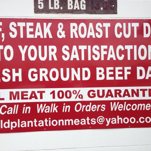 Old Plantation Meats - 13 visitors