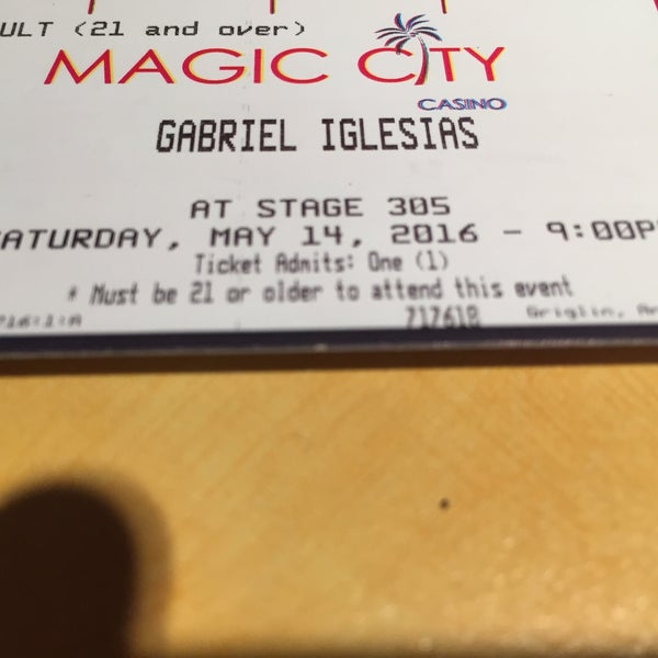 Foto tomada en Magic City Casino por Enrique el 5/15/2016