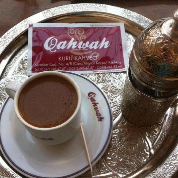 Foto tirada no(a) Qahwah por Emrah S. em 2/3/2013