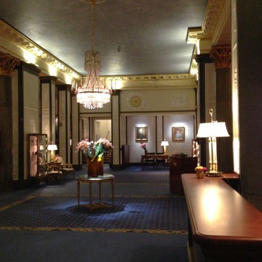 Foto tirada no(a) Grand Hôtel Stockholm por Maria Beatrice F. em 11/11/2012