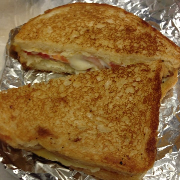 The ultimate grill cheese with bacon is Great!