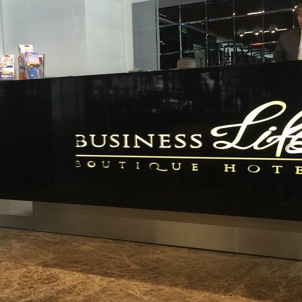 Снимок сделан в Business Life Hotel пользователем am🚀🧚♀️ 5/29/2016