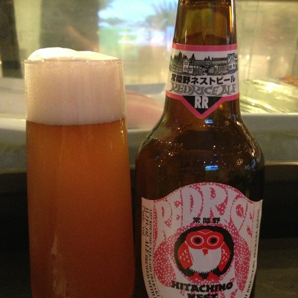 Try real Japanese Craft Beer. Ask for Hitachino Nest. Red Rice Ale is awesome!
