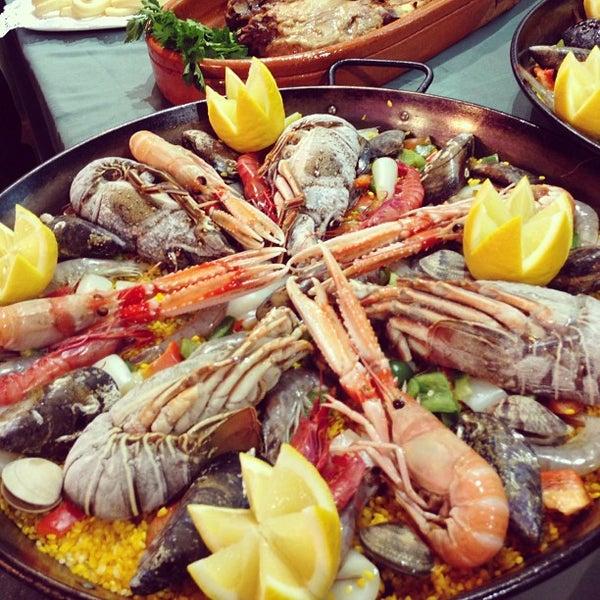 Das Foto wurde bei Restaurante Salamanca von jesse c. am 12/21/2012 aufgenommen