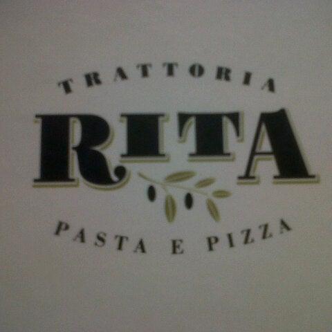 รูปภาพถ่ายที่ Trattoria Rita โดย Rodrigo F. เมื่อ 3/9/2013