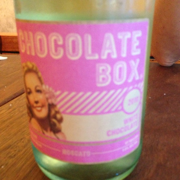 Try the Chocolate Box wine - red or sparkling, you won't be disappointed!!