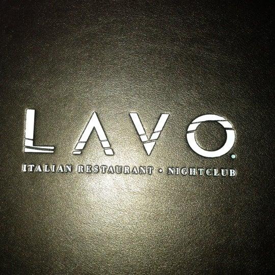 10/7/2012 tarihinde Viviana V.ziyaretçi tarafından Lavo'de çekilen fotoğraf