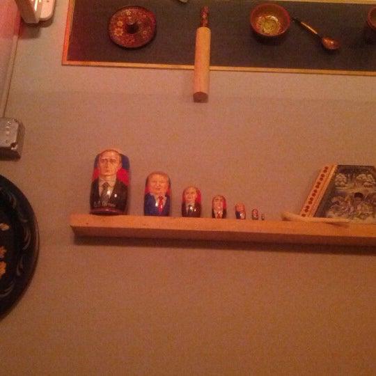 12/3/2012 tarihinde Talbot S.ziyaretçi tarafından Russian House'de çekilen fotoğraf