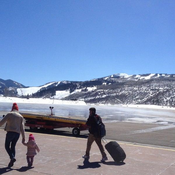 Photo prise au Aspen/Pitkin County Airport (ASE) par Alex J. le3/25/2013
