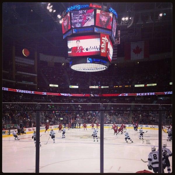 Foto diambil di Gila River Arena oleh Samantha M. pada 1/27/2013