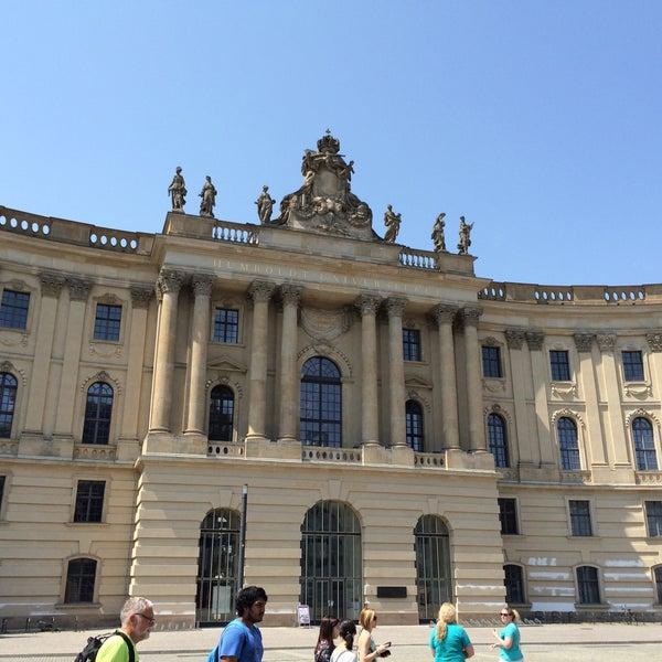 7/5/2015에 Daniele V.님이 Humboldt-Universität zu Berlin에서 찍은 사진