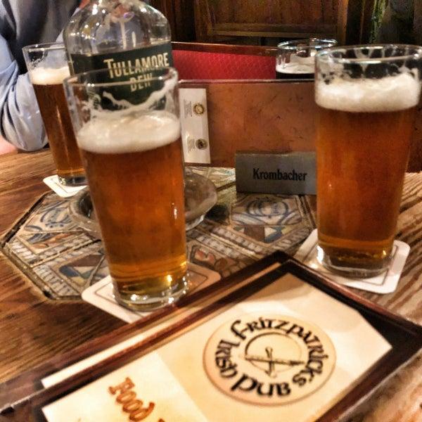 Das Foto wurde bei Fritzpatrick's Irish Pub von Stefan am 1/14/2018 aufgenommen