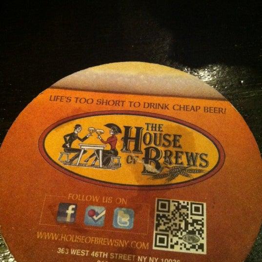 Das Foto wurde bei The House of Brews von Jon S. am 10/16/2012 aufgenommen