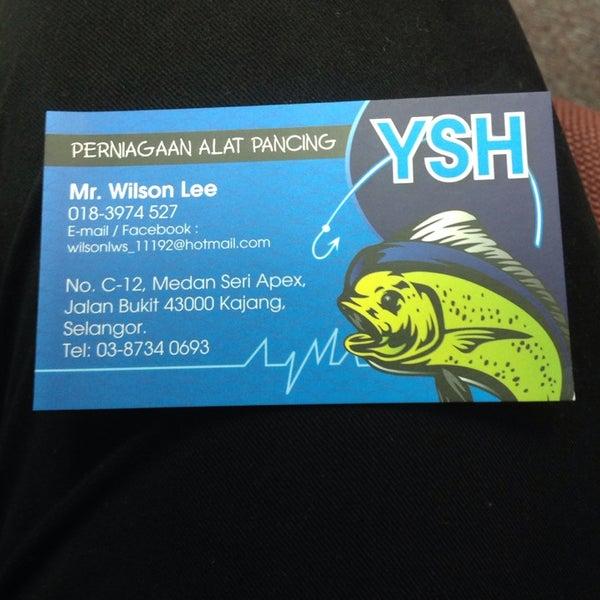 Perniagaan Alat Pancing YSH - Hobby Shop