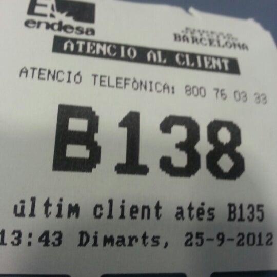 Endesa la dreta de l 39 eixample barcelona catalu a - Oficina fecsa endesa barcelona ...