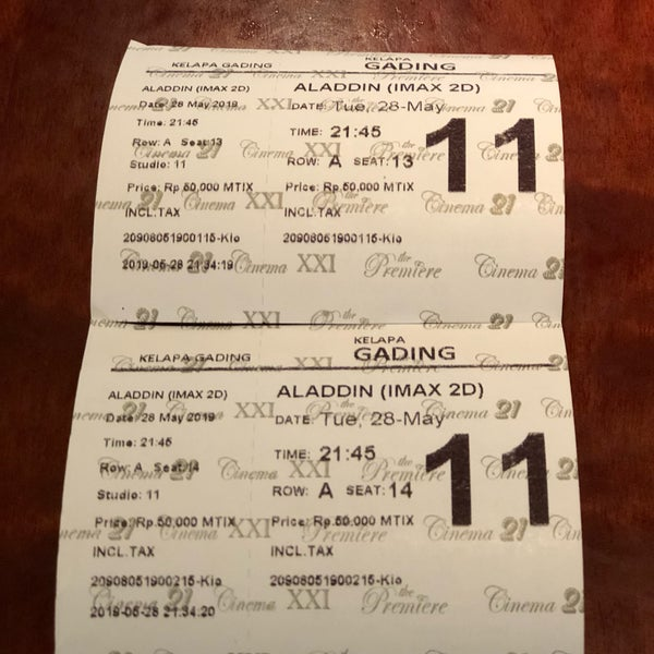 Premiere Gading Multiplex In Kelapa Gading