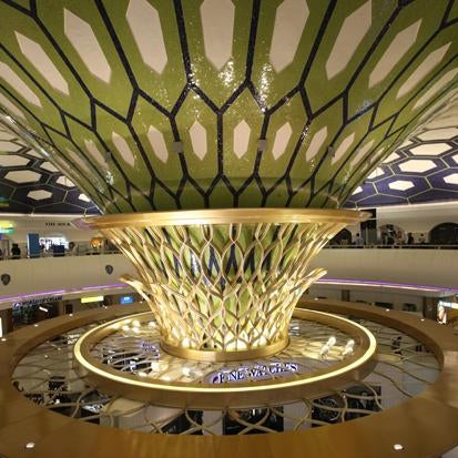 Winner of the 2012 World Airport Awards 'Best Airport in the Middle East'. Its Terminal 3, home of Etihad Airways, features an award-winning concierge style check-in. http://bit.ly/10uxK7g