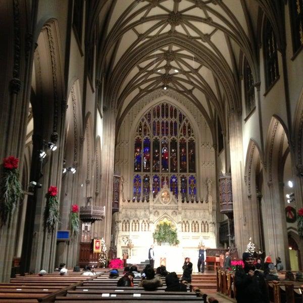 Foto scattata a Trinity Church da Sergio C. il 1/2/2013
