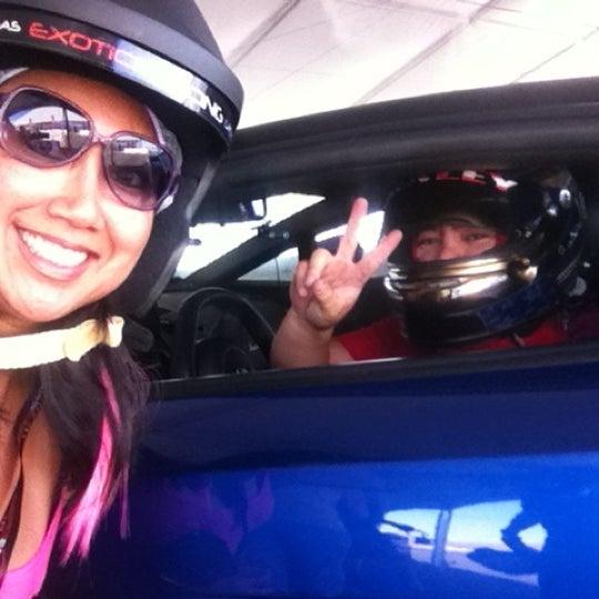 Снимок сделан в Exotics Racing пользователем @MaryAnneWendt 9/25/2012