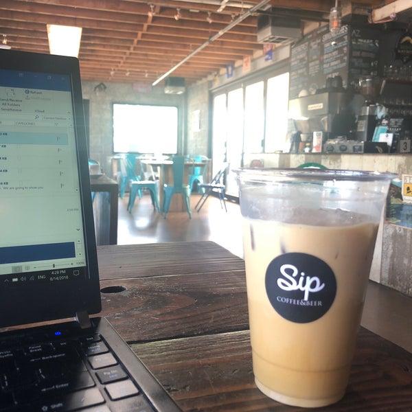 8/14/2018에 Frank w.님이 Sip Coffee & Beer House에서 찍은 사진