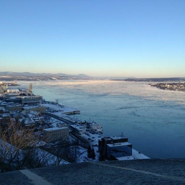 Photo prise au Citadelle de Québec par Sarah C. le1/21/2013