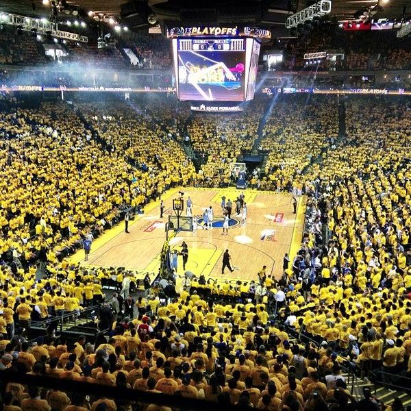 รูปภาพถ่ายที่ Oakland Arena โดย Greg W. เมื่อ 4/29/2013