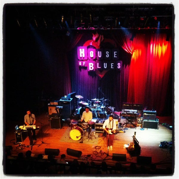 Foto tirada no(a) House of Blues San Diego por Tassia B. em 3/21/2013