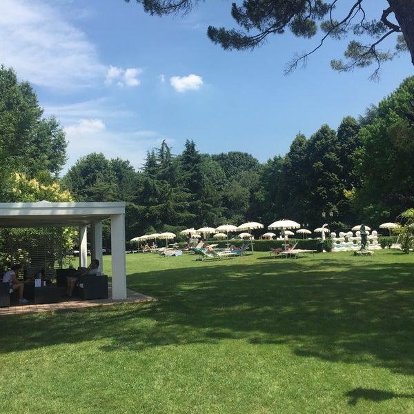 7/6/2016에 Ahmet님이 Park Hotel Villa Giustinian에서 찍은 사진