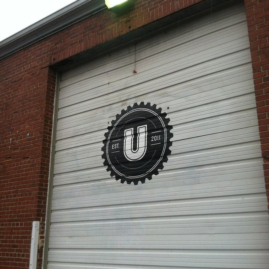 Photo taken at Union Craft Brewing by Andrew H. on 11/27/2012