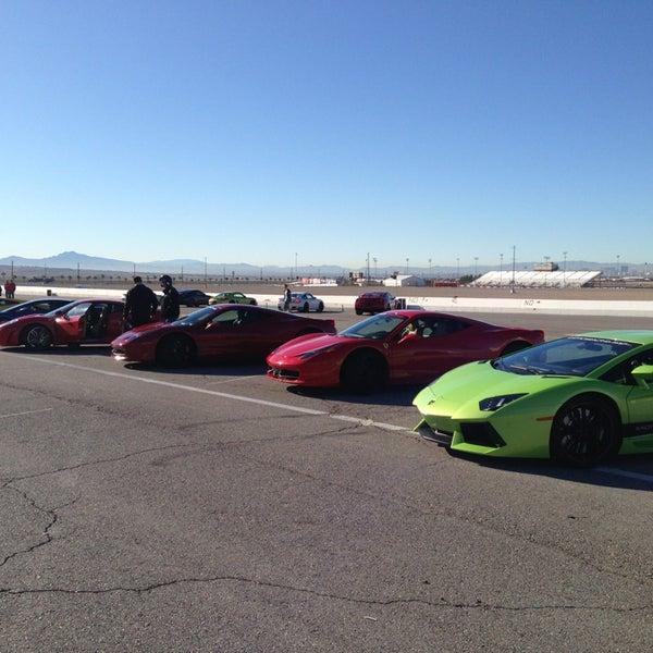 Снимок сделан в Exotics Racing пользователем Kenneth L. 12/28/2012