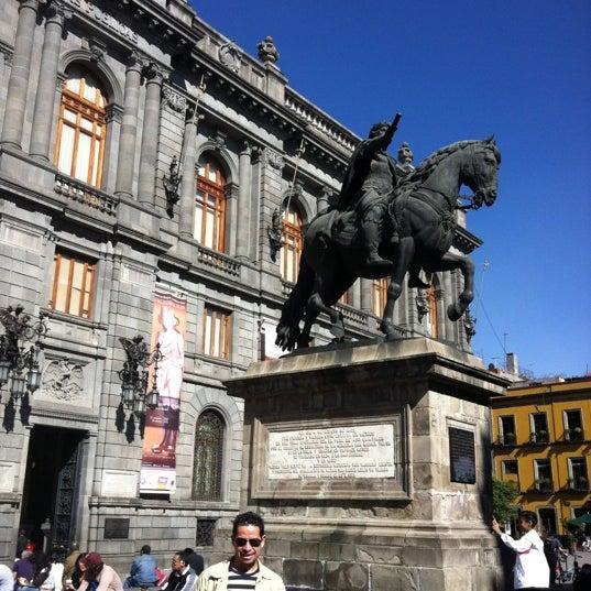 12/30/2012 tarihinde Antonio M.ziyaretçi tarafından Museo Nacional de Arte (MUNAL)'de çekilen fotoğraf