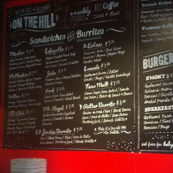 Foto diambil di On the Hill Cafe oleh Abby B. pada 7/23/2013