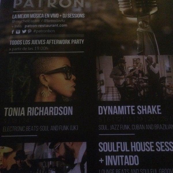 รูปภาพถ่ายที่ Patrón โดย Ufuk U. เมื่อ 11/5/2017