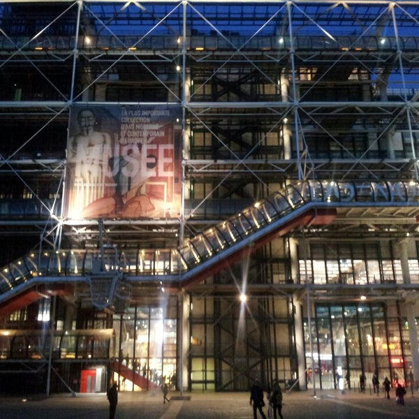 Top 50 Things To Do In Paris During Summer: Place Georges Pompidou