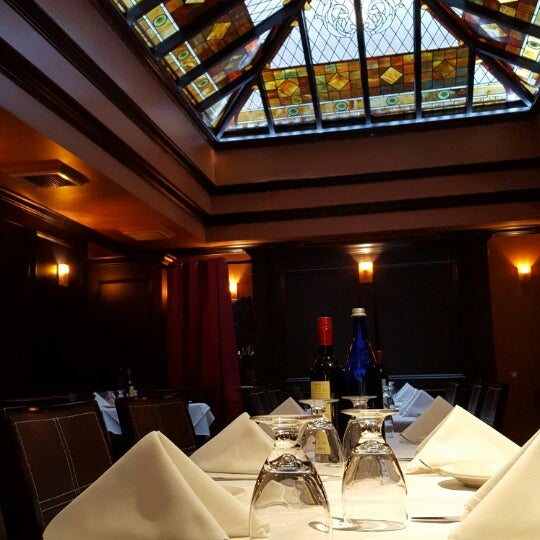 authentic ambiance, fine cuisine and friendly service ... the spot for fine dining under a mosaic sky window