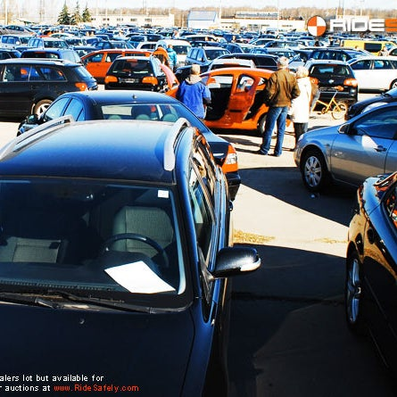 Photos at RideSafely - Auto Auctions - 15 tips