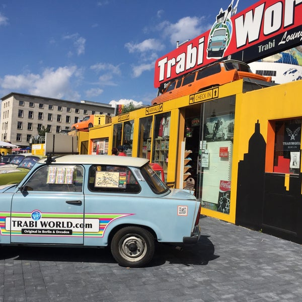 A good alternative to traditional sight seeing tours, think about getting a WelcomeCard as you can get discount on a Trabi tour.