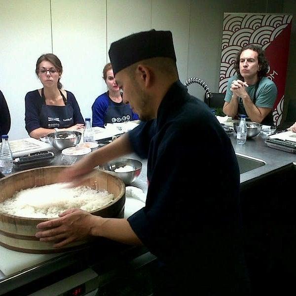 No te pierdas los cursos de cocina japonesa de ComerJapones.com en Daisuki.