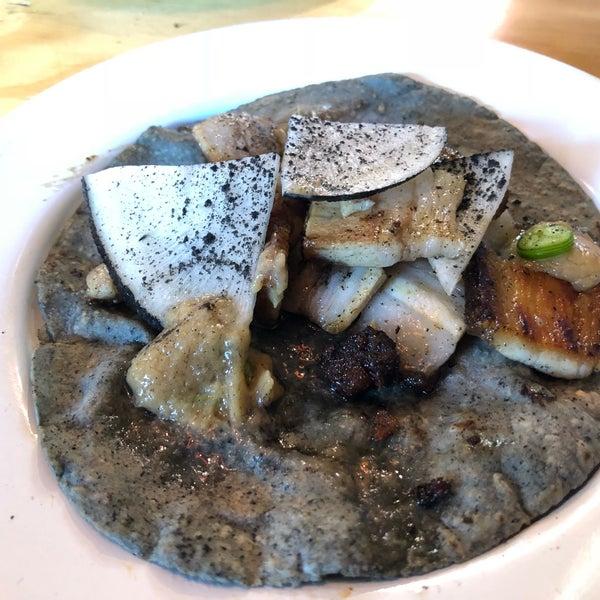 Mi favorito: el de brisket. Pero el de pancetta buenísimo, el de costilla: picosón pero necesario. El de pastor muy exótico pero igual de imperdible.
