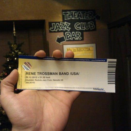Foto tomada en Reduta Jazz Club por Antonio L. el 12/25/2012