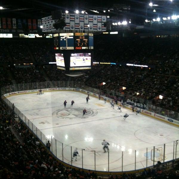 2/5/2013 tarihinde Steve N.ziyaretçi tarafından Northlands Coliseum'de çekilen fotoğraf