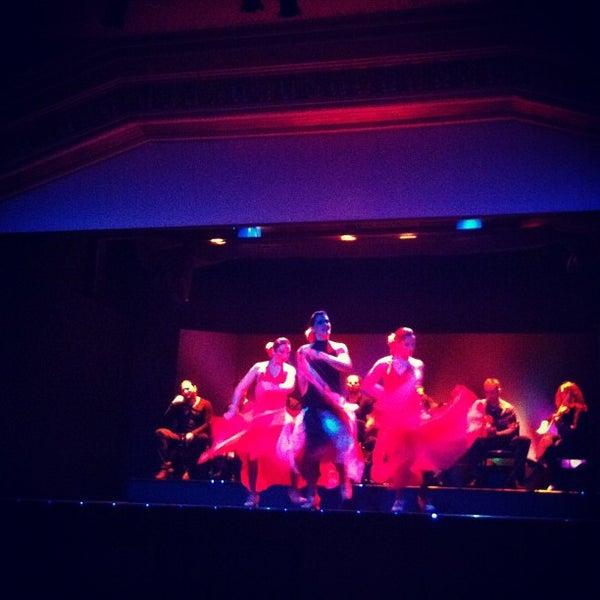 Снимок сделан в Palacio del Flamenco пользователем Taygun Ö. 11/24/2012