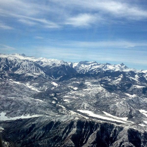 Photo prise au Aspen/Pitkin County Airport (ASE) par David V. le3/14/2013