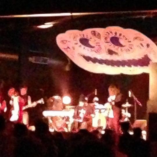 Снимок сделан в The Cannery Ballroom пользователем Matt S. 11/1/2012