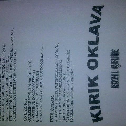 9/25/2012에 Berkhan Y.님이 Kırık Oklava에서 찍은 사진