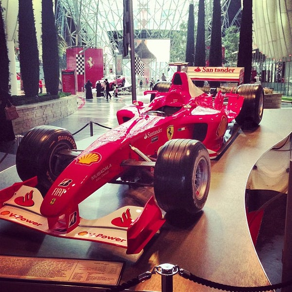Photo taken at Ferrari World Abu Dhabi by Vladimir S. on 2/14/2013